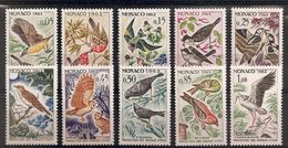 SERIE PROTECTION DES OISEAUX N° 581 à 590 NEUF** - Collections, Lots & Series
