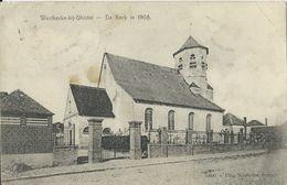 Westkerke-bij-Ghistel.  -   De Kerk In 1908 - Oudenburg
