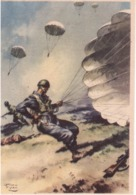 Franchigia  Ill. V.Pisani Con Timbro Scuola Paracadutisti  E829 - 1900-44 Vittorio Emanuele III
