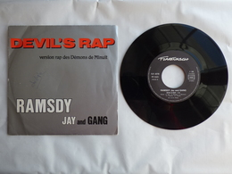EP 45T RAMSDY JAY AND GANG  LABEL  FLARENASCH  DEVIL'S RAP - Rap & Hip Hop
