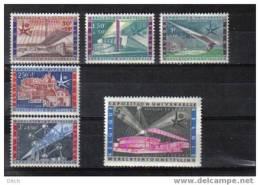 D- [TB002-3] **/mnh-BELGIQUE COB N° 1047/1052 @ XX - MNH @ SUPERBE Expo Universelle De Bruxelles 1958 - 1958 – Bruxelles (Belgique)