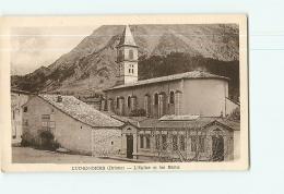 LUC EN DIOIS : L'Eglise Et Les Bains.  2 Scans. Edition Serre - Luc-en-Diois