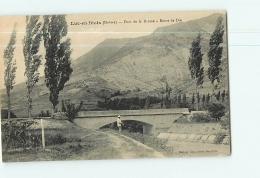 LUC EN DIOIS : Pont De La Drôme, Route De Die ( Pêcheur ). TBE.  2 Scans. Edition Gay - Luc-en-Diois