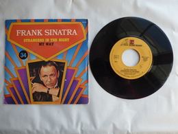 EP 45T FRANK SINATRA  LABEL REPRISE RECORDS 14148  STRANGER IN THE NIGHT + MY WAY - Disco, Pop