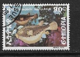 ETHIOPIA     1978 Fishes         USED - Ethiopie