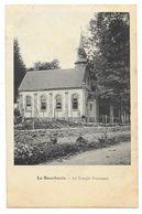 Cpa: 63 LA BOURBOULE (ar. Clermont Ferrand) Le Temple Protestant. - La Bourboule