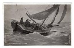 CPA PEUT ETRE PHOTO ?      PECHEURS DE MAQUEREAUX---1909 - Pesca