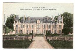 CPA   76   CHATEAU DE MIROMESNIL, OU EST NE GUY DE MAUPASSANT---ENVIRONS DE DIEPPE - Frankrijk