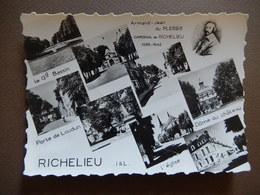 37 - RICHELIEU - VUE D'ENSEMBLE - MULTI VUES - RARE - R12747 - France