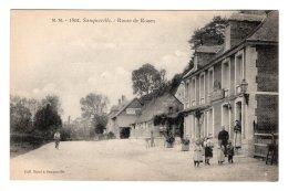 CPA   76   SAUQUEVILLE---ROUTE DE ROUEN - France