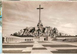 Spain  & Circulated,  Santa Cruz Del Valle De Los Caídos, Barcelona, Montijo Portugal 1963 (11) - Monuments