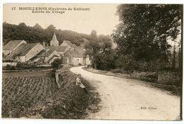 CPA 52 Haute-Marne Mouilleron Entrée Du Village - Francia