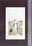 Calendrier 1899 - Chocolat Cie Coloniale - Chocolat Du Planteur - Il Jean Boussod - Calendars