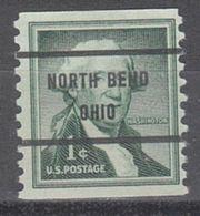 USA Precancel Vorausentwertung Preo, Bureau Ohio, North Bend 1054-71 - Vereinigte Staaten