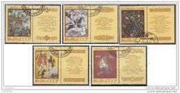 5789 Russia Urss 1989 Favole Popolari Folklore Popular Fables - Fiabe, Racconti Popolari & Leggende