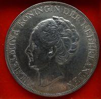 WILHELMINA 1938  GULDEN 2 1/2 - 2 1/2 Gulden