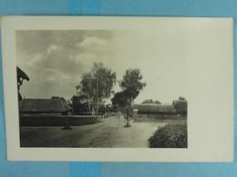 Carte Photo Village En Lituanie En 1916 - Guerre 1914-18