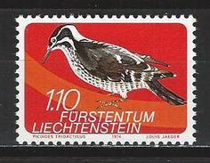 Lliechtenstein Mi 612 ** MNH Picoides Tridactylus - Climbing Birds