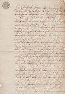 Allemagne 1780. Lettre D'évêque ?? Avec Sceau, Inscriptions En Allemand Et Latin. De Christoph Henry Borchers - Documents Historiques
