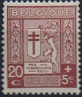 PIA - BELGIO - 1926-27 : Per I Tubercolosi Di Guerra  - (Yv 241) - Unused Stamps