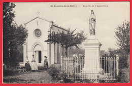 CPA-34- ST-BAUZILLE-de-la-SYLVE - Chapelle De L'Apparition * Animation * SUP * 2 SCANS. - Sete (Cette)