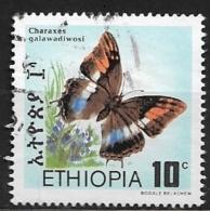 ETHIOPIA    1983 Butterflies   USED - Ethiopie