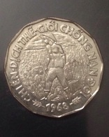 South Vietnam Viet Nam AU/UNC 20 Dong Coin 1968 / 02 Photo - Viêt-Nam