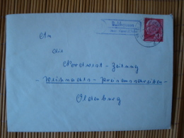 "BRD, Brief Mit Landpoststempel "" Bekhausen über Varel  "" - BRD"