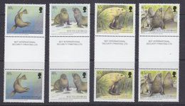 "South Georgia 2002 Fur Seals 4v Gutter ""Security Printing""  ** Mnh (37767) - Zuid-Georgia"