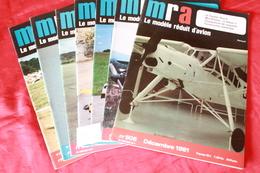 LOT DE 7 REVUES  MRA  1981 - Modèles R/C