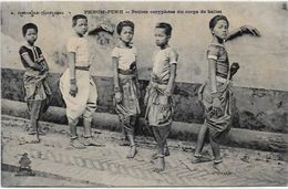 CPA Cambodge Asie Asia Circulé Type Danseuses - Cambodge