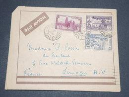 CÔTE D 'IVOIRE - Enveloppe De Abidjan Pour La France Par Avion  - L 14128 - Côte-d'Ivoire (1892-1944)