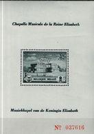 """PIA -  BELGIO - 1941 : Pro Fondazione Musicale """"Regina Elisabetta""""  (YV Bf  13-14) - Foglietti"""