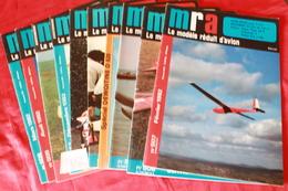 LOT DE  10 REVUES  MRA  1982 - Modèles R/C