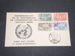 SYRIE - Enveloppe FDC En 1955 , Organisation Des Nations Unies - L 14130 - Syrie