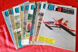 LOT DE  11  REVUES  MRA  1984 - Modèles R/C