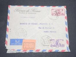 SYRIE - Enveloppe Commerciale En Recommandé De Damas Pour La France En 1956 - L 14132 - Syrie