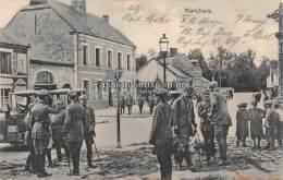 CARTE  ALLEMANDE    MARCHAIS  1916  OFFICIERS  ALLEMANDS  MAIRIE GRAND RUE - Autres Communes