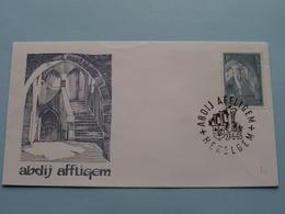 ABDIJ AFFLIGEM ( Enveloppe / Omslag ) Stamp Abdij Affligem HEKELGEM 27-5-1965 ( Zie Foto Voor Details ) !! - Enteros Postales