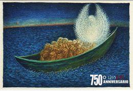 Italia 2015 Dante Alighieri 750° Anniversario Della Nascita Cartolina Speciale Nuova D'autore Purgatorio - Escritores