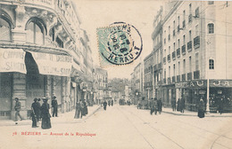 BEZIERS - N° 78 - AVENUE DE LA REPUBLIQUE - Beziers