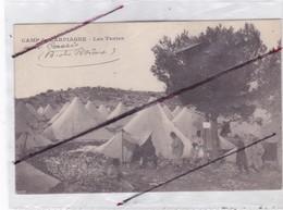 Camp De CARPIANNE (13) Les Tentes - Unclassified