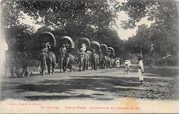 CPA Cambodge Asie Asia Non Circulé Type éléphant - Cambodge