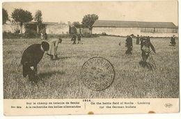 Sur Le Champ De Bataille De Senlis A La Recherche Des Balles Allemandes - Guerra 1914-18