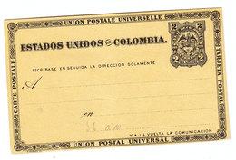 Colombia UNUSED POSTAL CARD - Colombie
