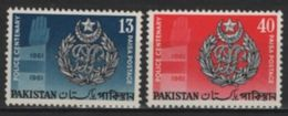 Pakistan (1962) Yv. 157/58  /  Police - Polizei - Policia - Pakistan