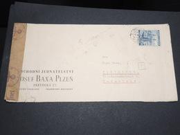 BOHÊME ET MORAVIE - Enveloppe Commerciale Pour Les Pays Bas Avec Contrôle Postal - L 14162 - Lettres & Documents