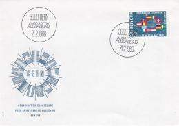 Switzerland FDC 1966 Europa CEPT  (G91-2) - Europa-CEPT