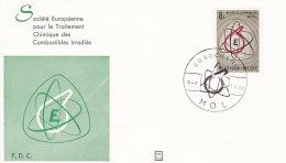Belgium FDC 1966 Eurochemic Mol  (G91-2) - Unclassified