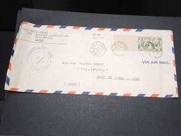 SÉNÉGAL - Enveloppe En FM De Dakar Pour Alger En 1944 Par Avion - L 14163 - Sénégal (1887-1944)